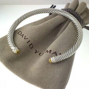 David Yurman 5mm Lemon Citrine Diamond Bracelet